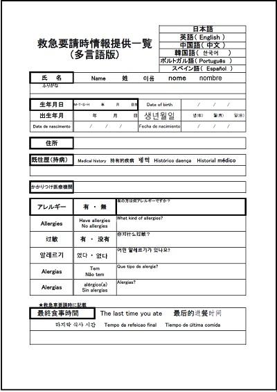 高湯温泉であったか♨心のおもてなしを!~外国人救急対応シミュレーション~